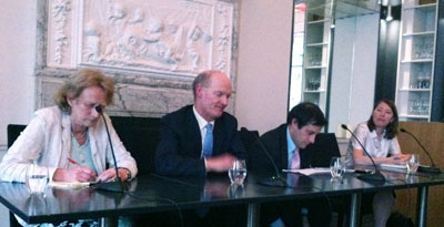 SiV panel with David Willetts