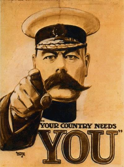 The UK needs you!